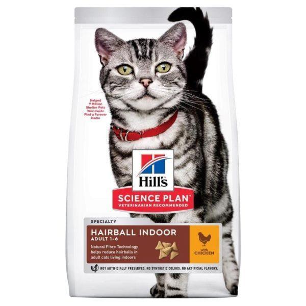 Hill`s Adult Hairball Indoor Chicken