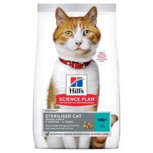 Hill`s Young Adult Sterilised Tuna