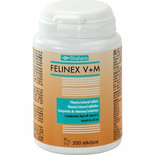 FELINEX V+M kattevitaminer hos Tropehagen