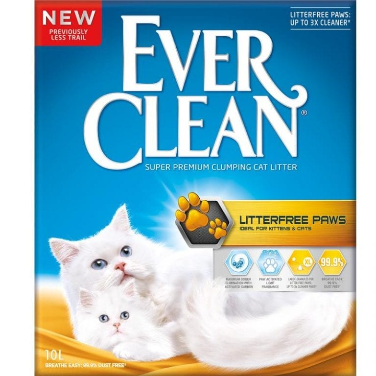 Ever Clean Litter Less Paws