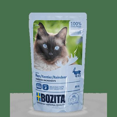Bozita kjøttbiter i saus med reinsdyr 85g 12pk