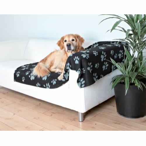 Trixie Barney Flisteppe til Hund Sort/Grå 150x100cm