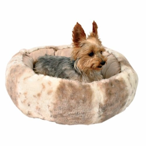 Trixie Leika Hundeseng Katteseng Beige 50 x 50 cm