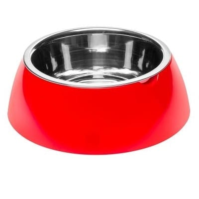 Jolie stålskål rød