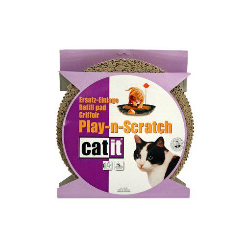 Katteleke erstattningspapp, play-n-scratch, catit