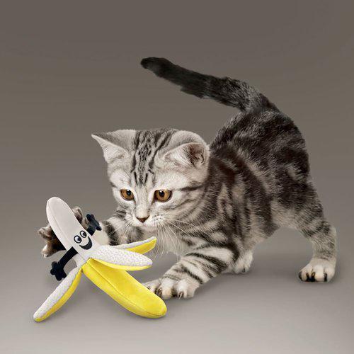 Kong Better Buss Banana med kattemynte