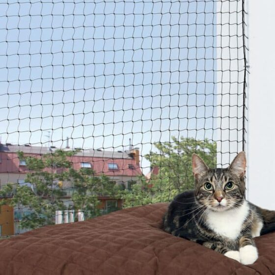 Balkong-luftegård-kattenett til terrasse