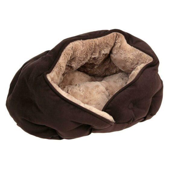 Malu kose hule, 47 × 27 × 41 cm, brun / lysebrun