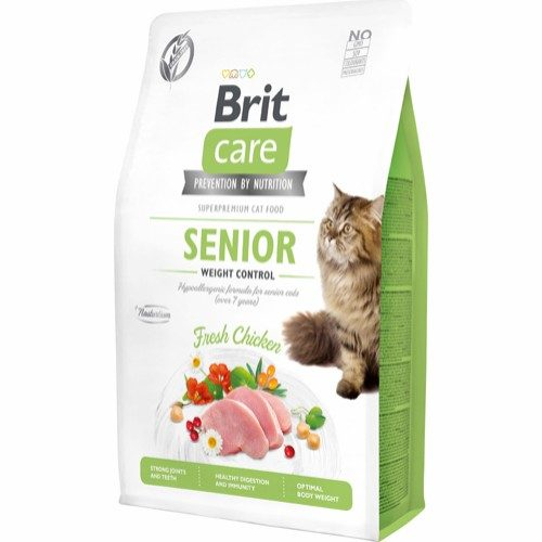 Brit Care Senior and weight control
