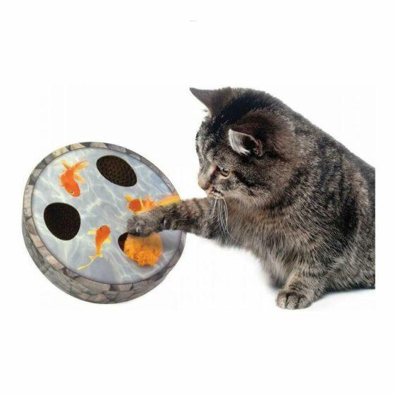 Petstages Hide & Seek Wobble Pond Cat Toy