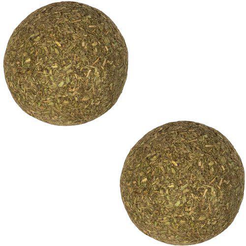 Catnip baller til katt, 2stk -3.5 cm