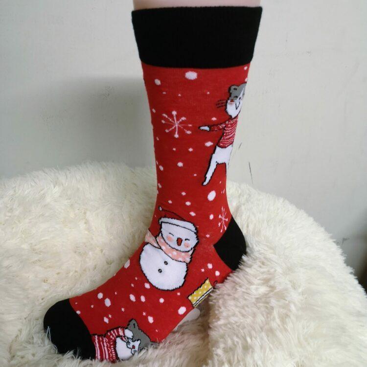 Katte sokker jul