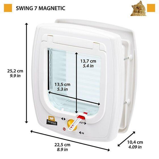 Katteluke Swing 7 magnetisk